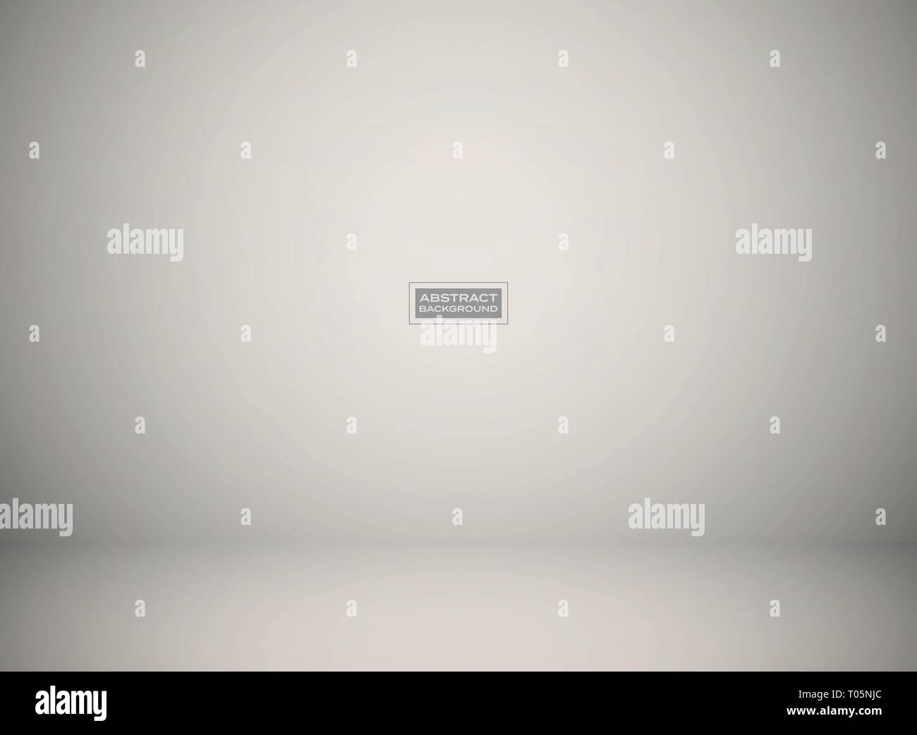 Abstract gradient gray studio background for presentation. You can use for product presentation, ad, poster, artwork. illustration vector eps10 - Stock Vector