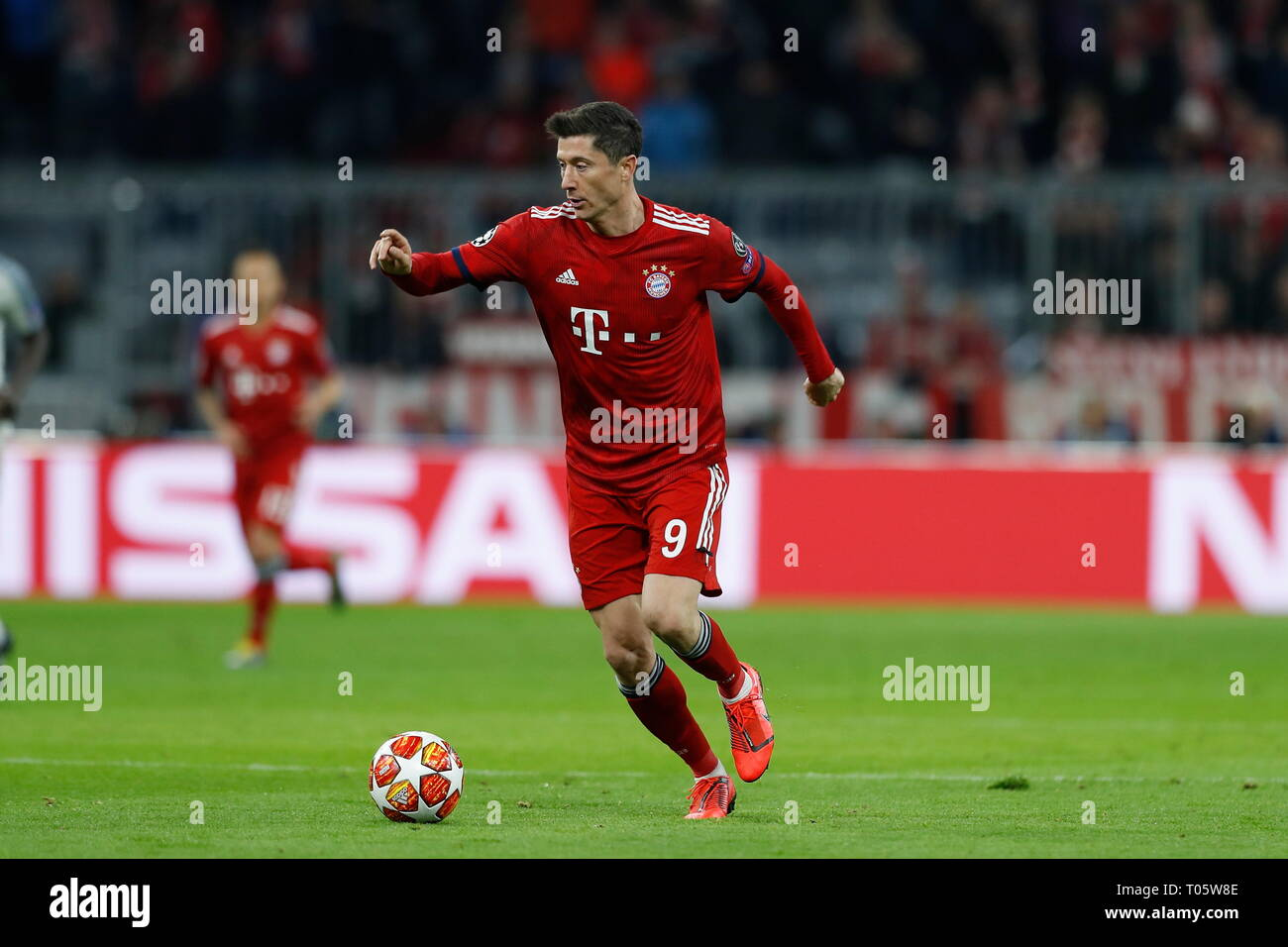 Munich Germany 13th Mar 2019 Robert Lewandowski Bayern