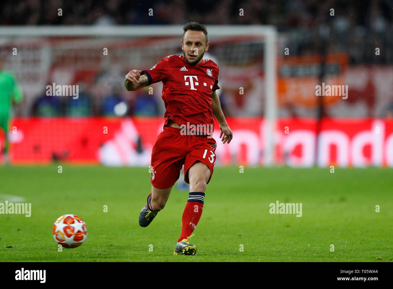 Munich Germany 13th Mar 2019 Rafinha Bayern Football
