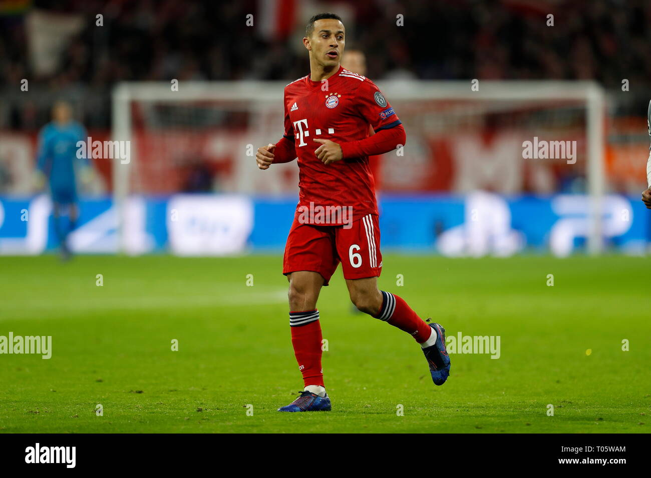 Munich Germany 13th Mar 2019 Thiago Alcantara Bayern