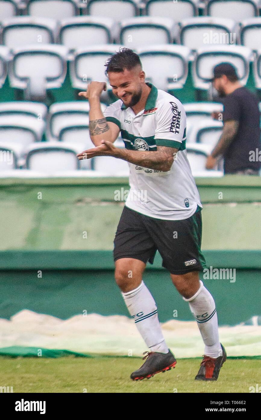 PR - Curitiba - 03/17/2019 - Paranaense 2019, Coritiba x Cascavel FC -  Giovanni Coritiba player celebrates his