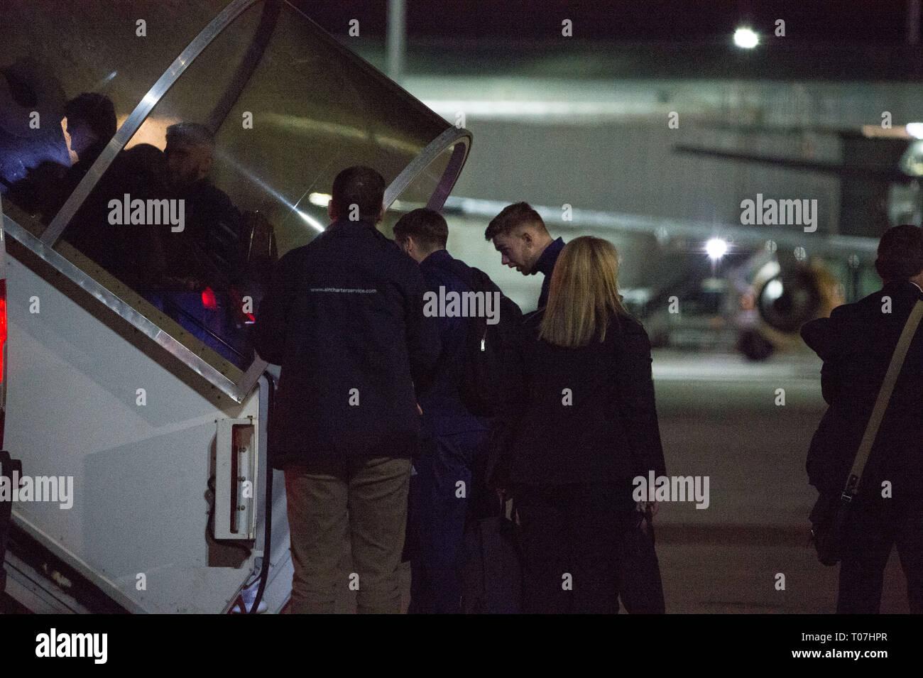 Glasgow International Airport Stock Photos & Glasgow