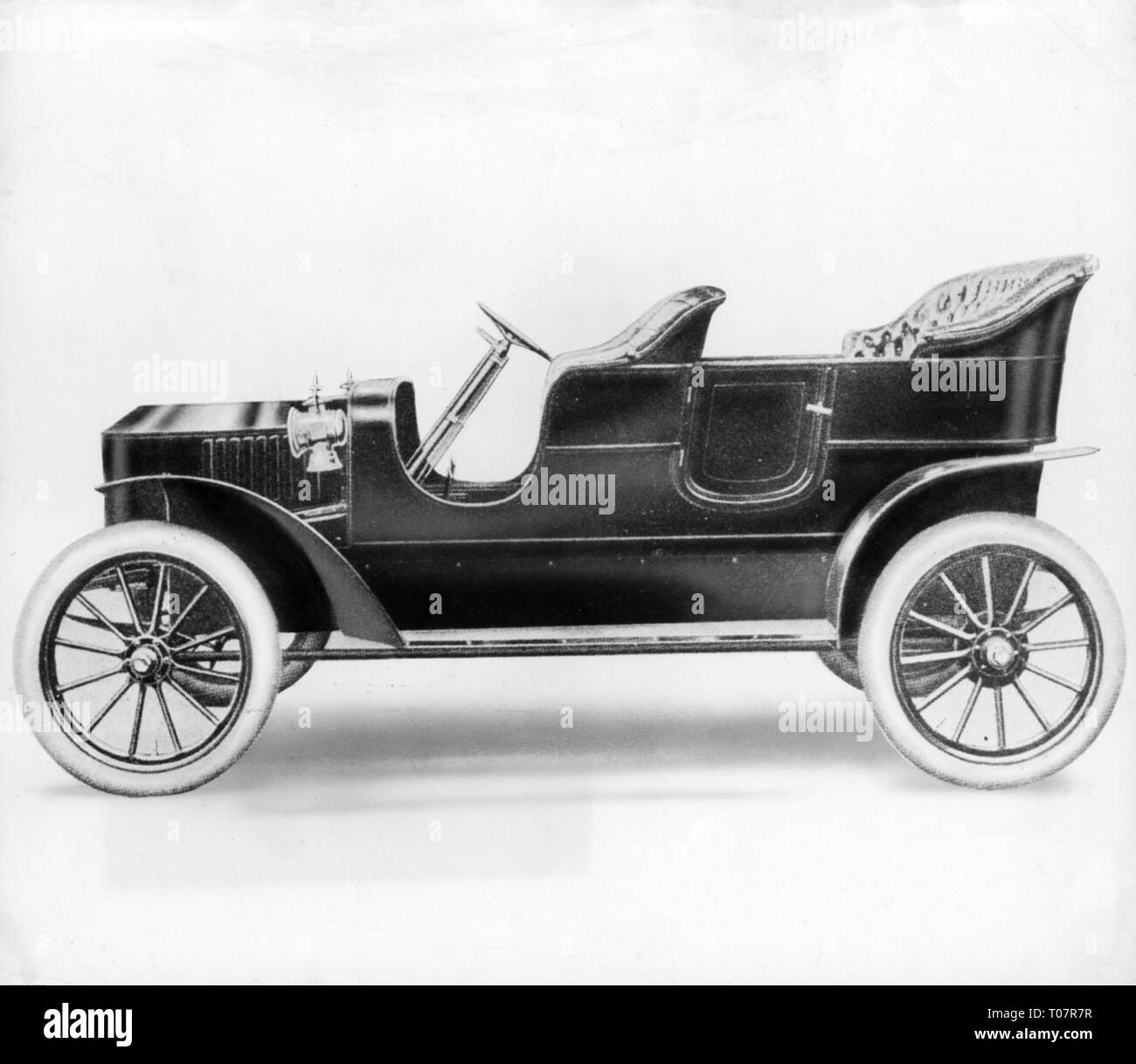 transport / transportation, car, vehicle variants, Stanley Steamer Model K Semi-Race, 1908, Additional-Rights-Clearance-Info-Not-Available - Stock Image