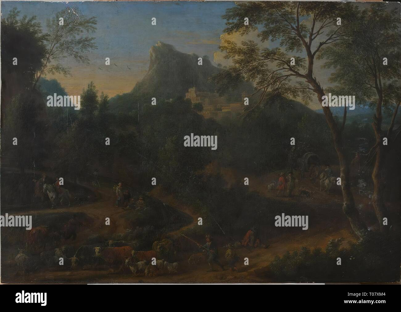 Dutch Painting 18th Century Stock Photos & Dutch Painting
