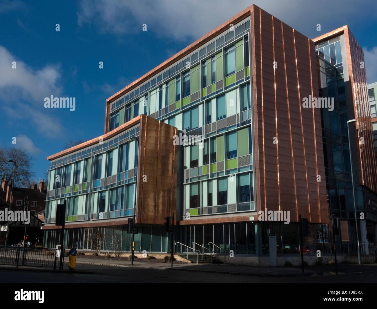 Derby Student Halls - Stock Image