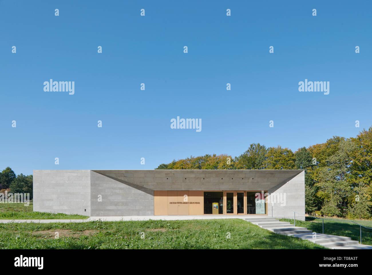 P.A.Böckstiegel Museum, Werther Arrode, Nordrhein-Westfalen - Stock Image