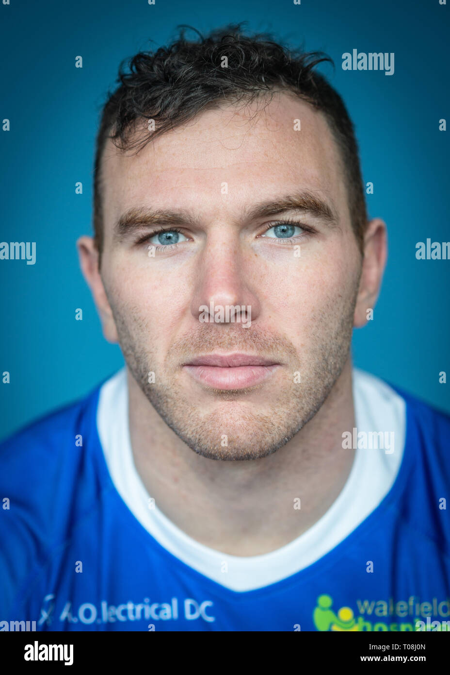 Rugby League, Super League, Wakefield Trinity Squads 2019 Headshot.   Credit: Dean Williams - Stock Image