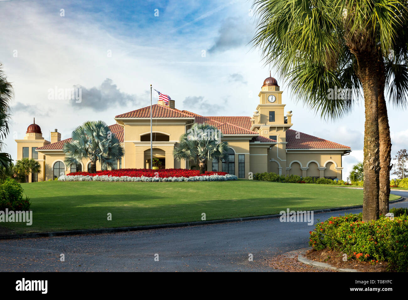 Olde Cypress Country Club, Naples, Florida, USA - Stock Image