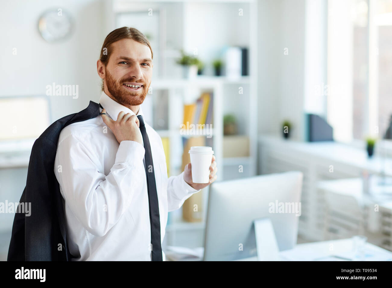 Employee in formalwear - Stock Image
