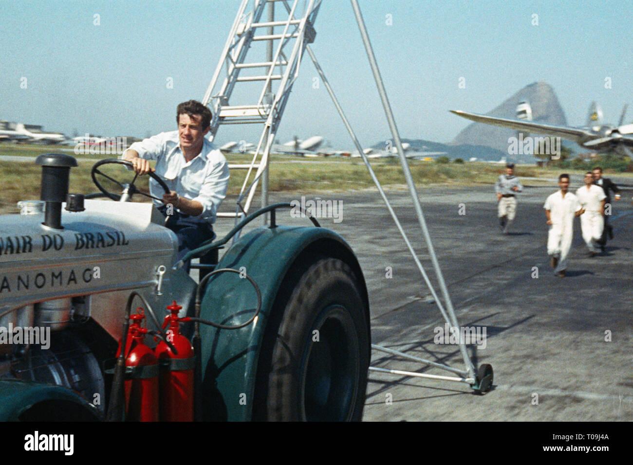 L'HOMME DE RIO 1964 de Philippe De Broca 1964 FRA./ITA. Jean-Paul Belmondo. aventure; adventure Prod DB © Films Ariane - Les Productions Artistes Asso - Stock Image