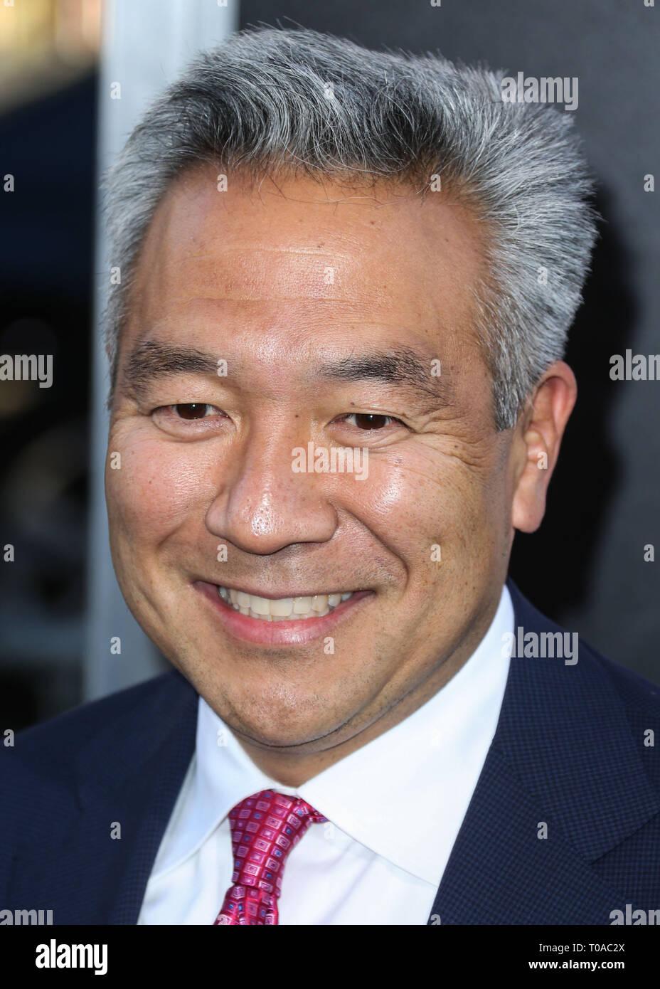 FILE) Warner Bros  Entertainment's Chairman and CEO Kevin Tsujihara