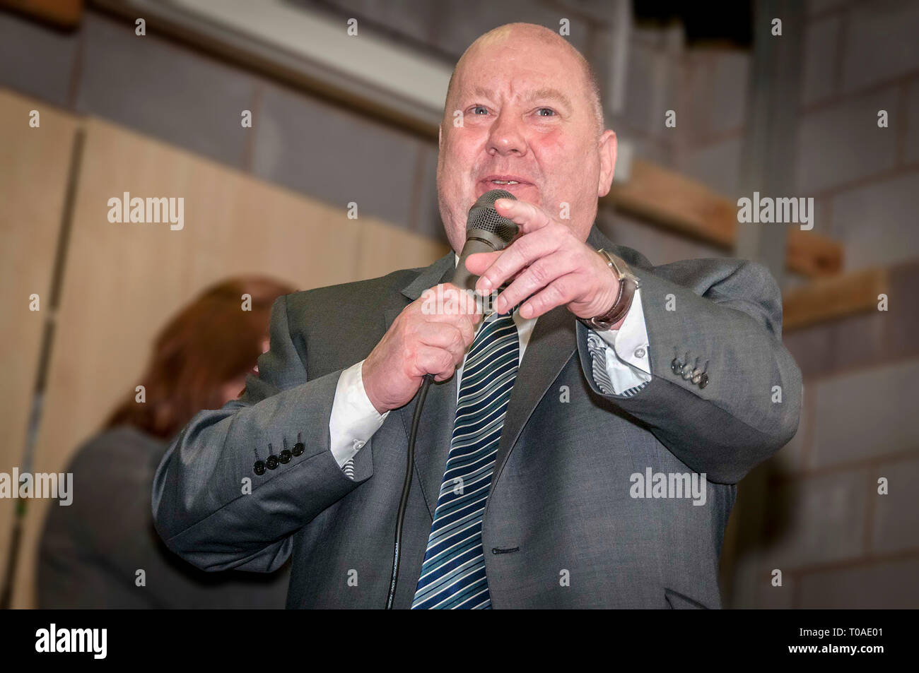 Liverpool mayor Joe Anderson. - Stock Image