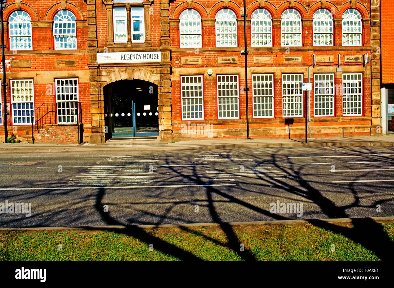 Sheffield, Regency House, student accomodation, St Marys Road,  England - Stock Image