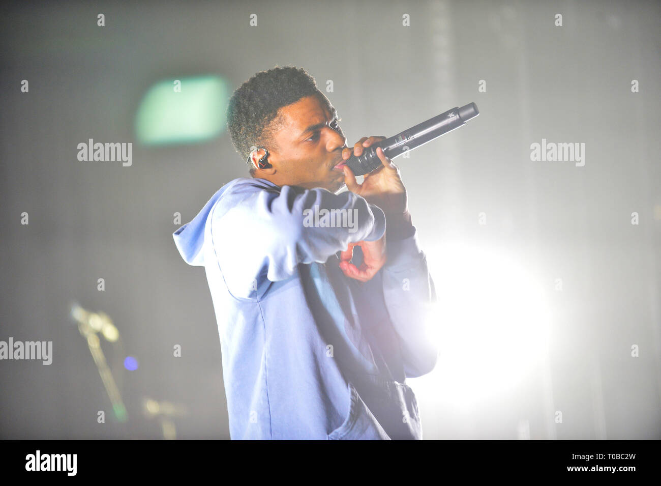 Vince Staples performs on the 'Smile, You're on Camera Tour