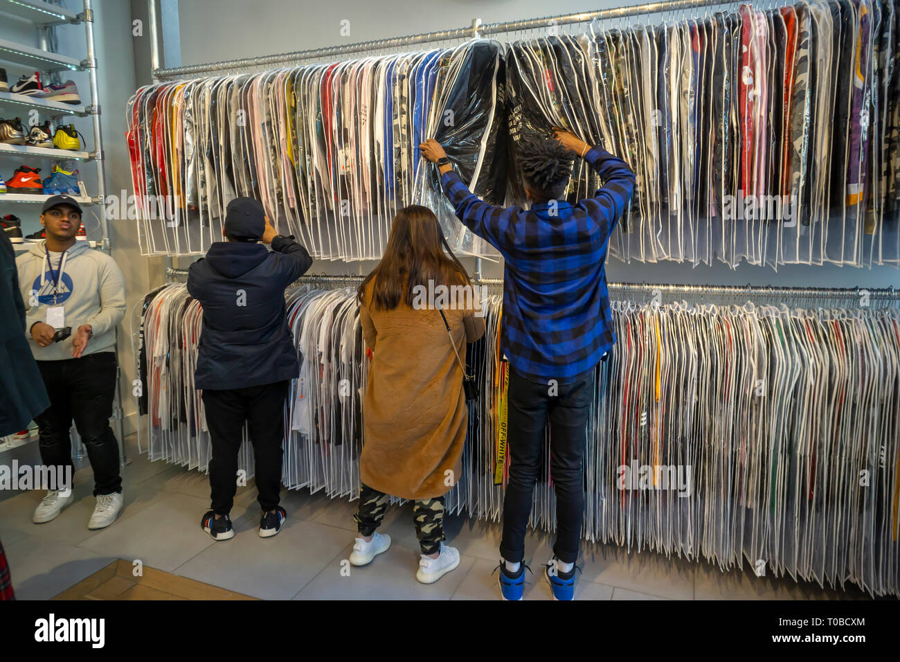 6a708beedfe5 Supreme Soho Stock Photos   Supreme Soho Stock Images - Alamy