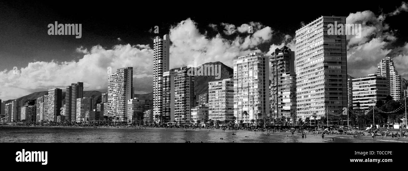 Valencia Beach Black And White Stock Photos Images Alamy