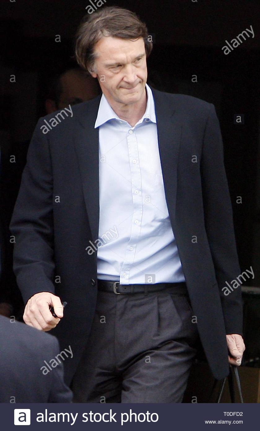 File photo dated 28-04-2008 of Jim Ratcliffe. - Stock Image