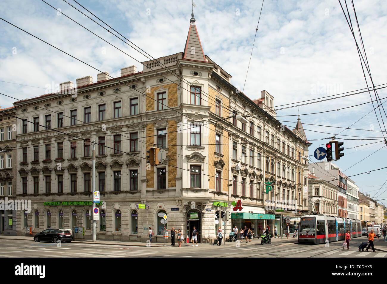 Österreich, Wien, Ottakring, Thaliastrasse / Wattgasse - Stock Image