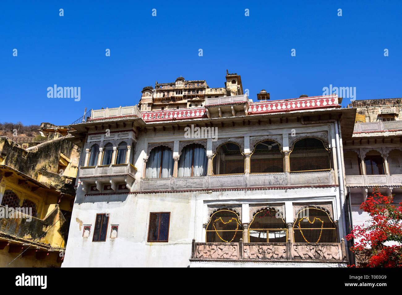 View to Taragargh Fort, Bundi, Rajasthan, India - Stock Image