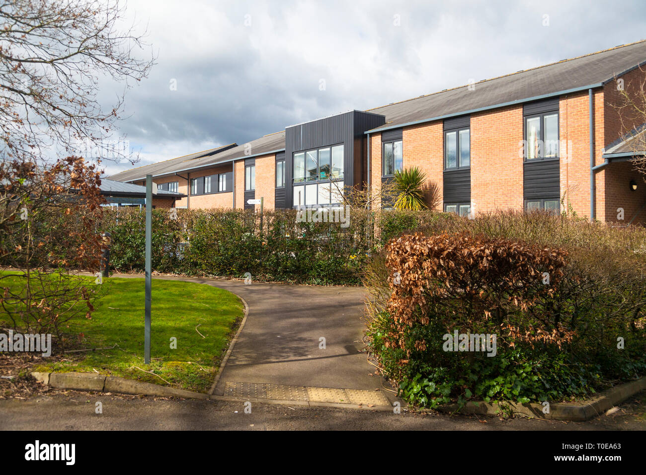 NHS west view, integrated care centre, tenterden, kent, uk - Stock Image