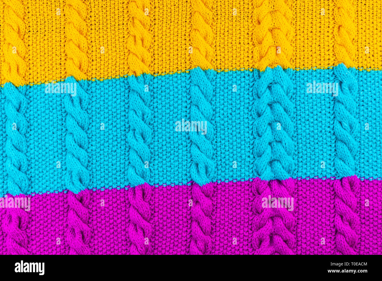 Texture Of Knitted Woolen Fabric For Wallpaper And An Abstract Background Stock Photo 241260676 Alamy