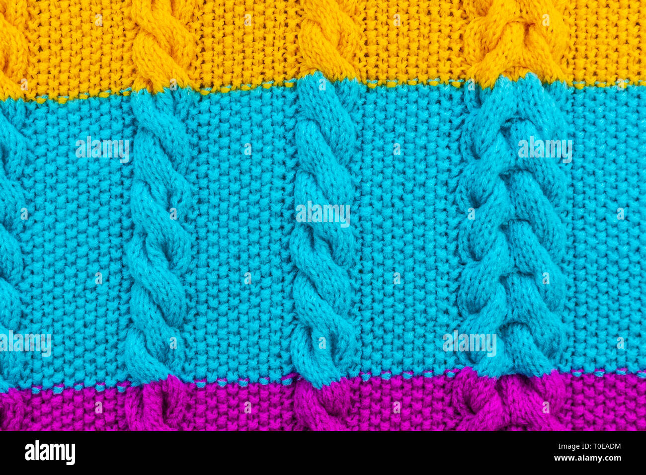 Texture Of Knitted Woolen Fabric For Wallpaper And An Abstract Background Stock Photo Alamy