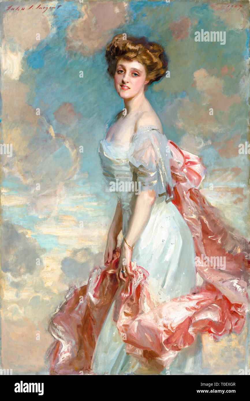 John Singer Sargent, Miss Mathilde Townsend, portrait, 1907 Stock Photo