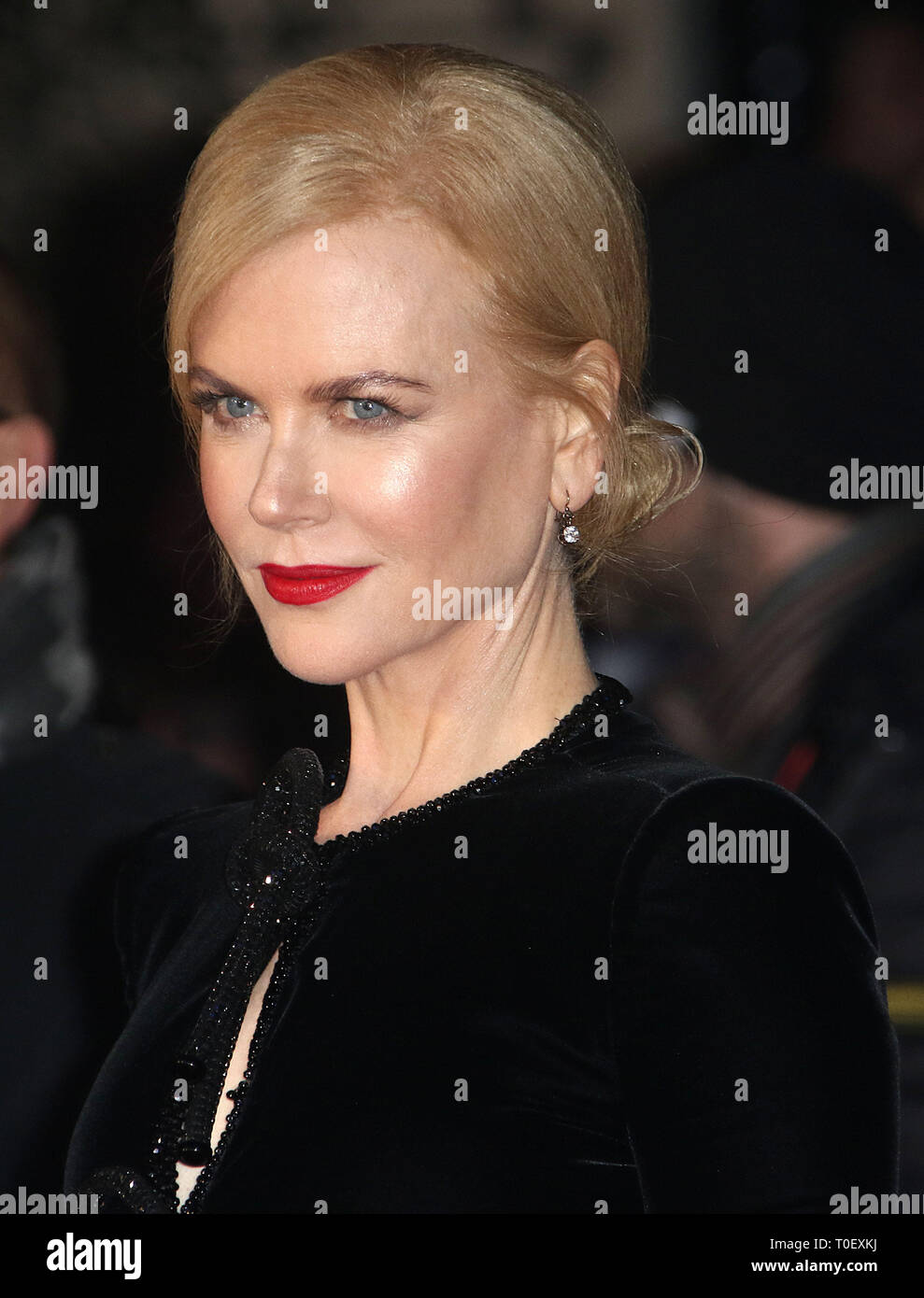 Oct 12, 2016 - London, England, UK - 60th Annual BFI London Film Festival - 'Lion' American Express Gala, Odeon Leicester Square - Red Carpet Arrivals - Stock Image