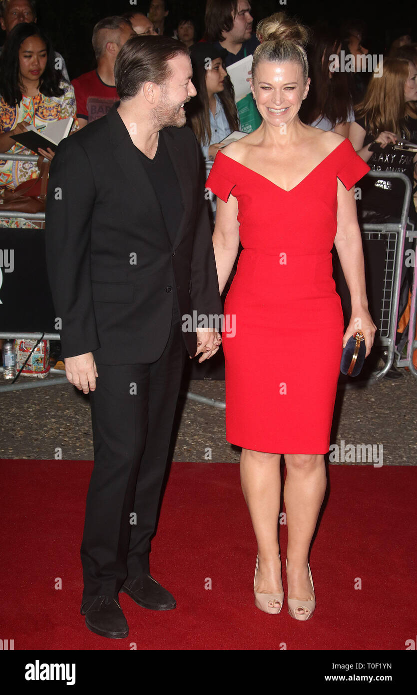 82079ffc8e Sep 06, 2016 - London, England, UK - GQ Men Of The Year Awards 2016, Tate  Modern - Red Carpet Arrivals Photo Shows: Ricky Gervais and Jane Fallon