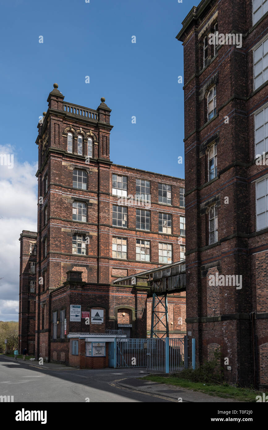 Mutual Mills, Heywood Stock Photo