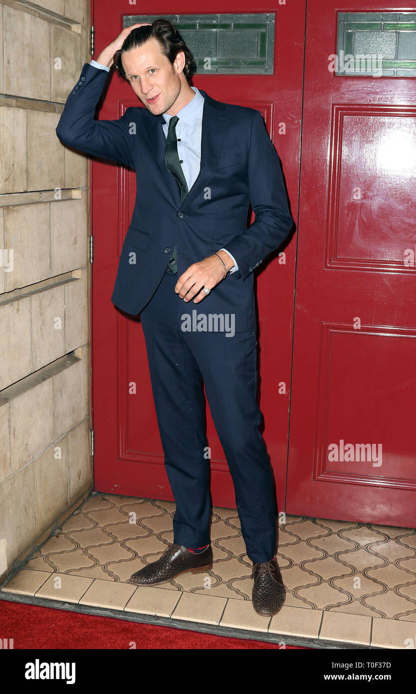 Sep 18, 2016 - London, England, UK - The National Youth Theatre 60th Anniversary Gala, Shaftesbury Theatre - Red Carpet Arrivals Photo Shows: Matt Smi - Stock Image
