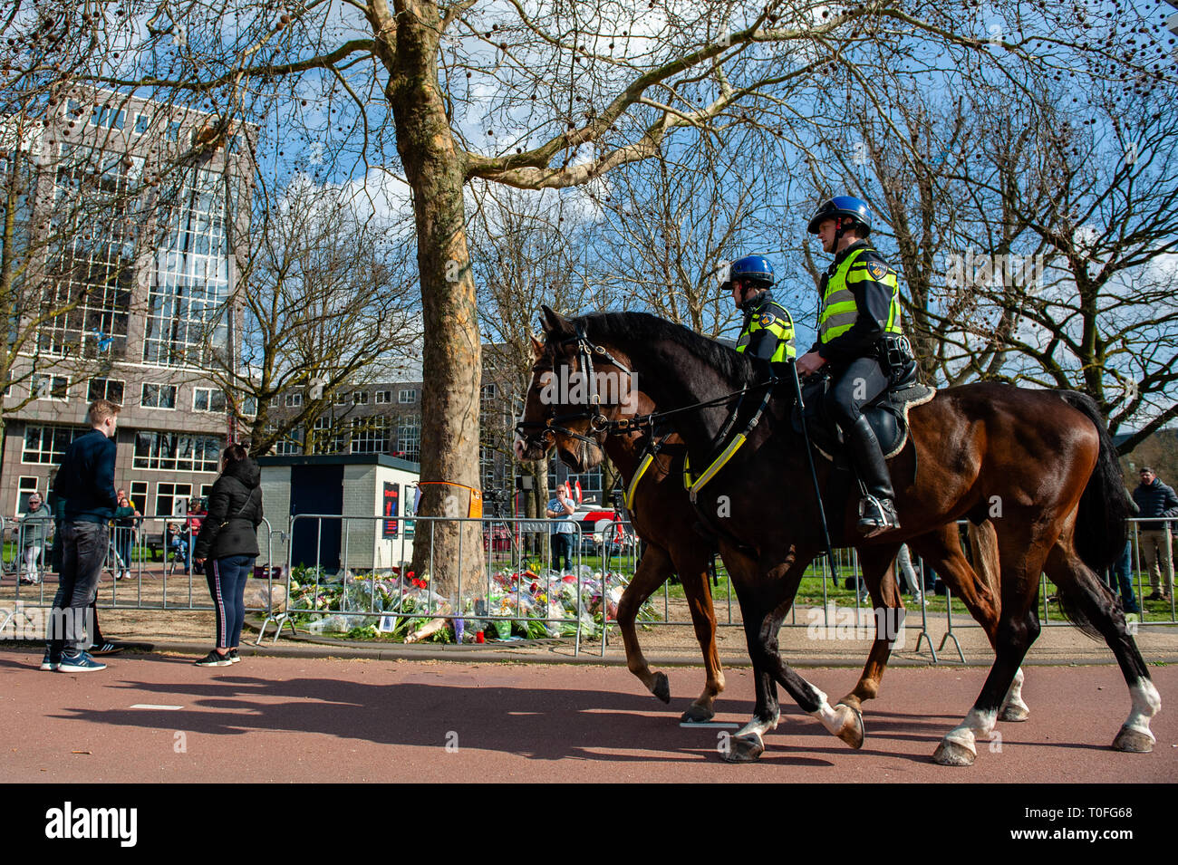 Dutch Police Officers Stock Photos & Dutch Police Officers Stock
