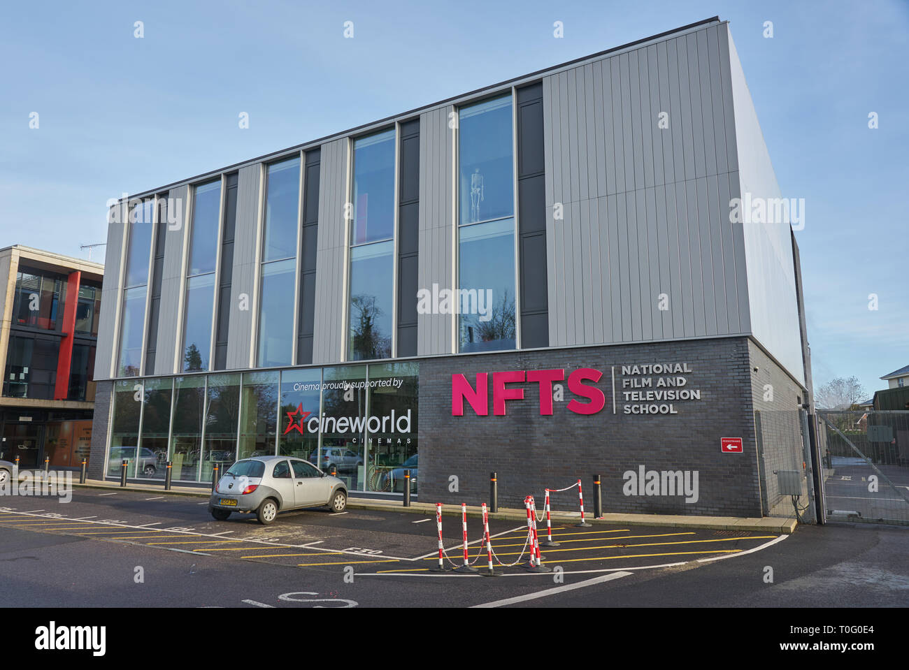 the national film and televiision school Stock Photo