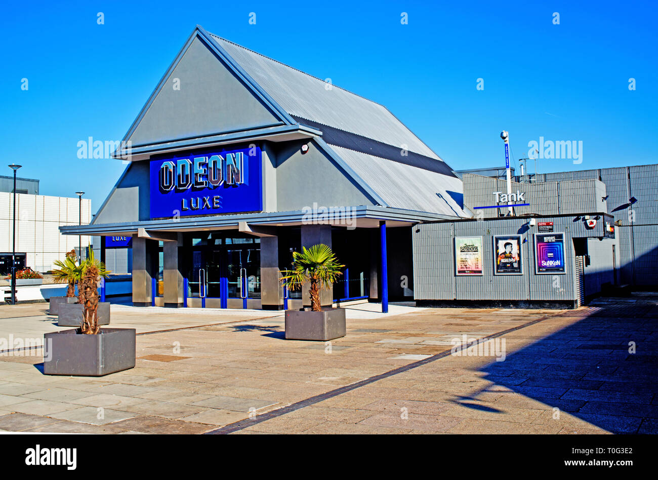 Shefffield, Odeon Luxe, England - Stock Image