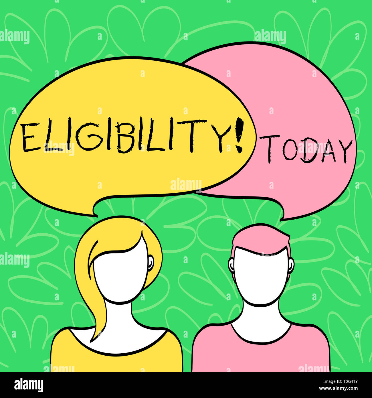 Conceptual hand writing showing Eligibility  Concept meaning