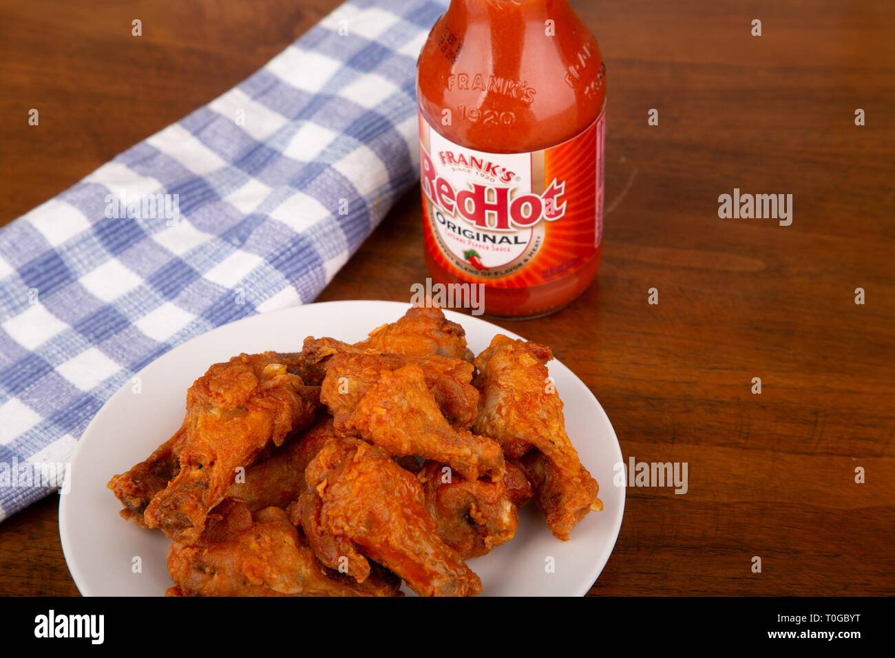 Franks Red Hot Sauce Stock Photos Franks Red Hot Sauce