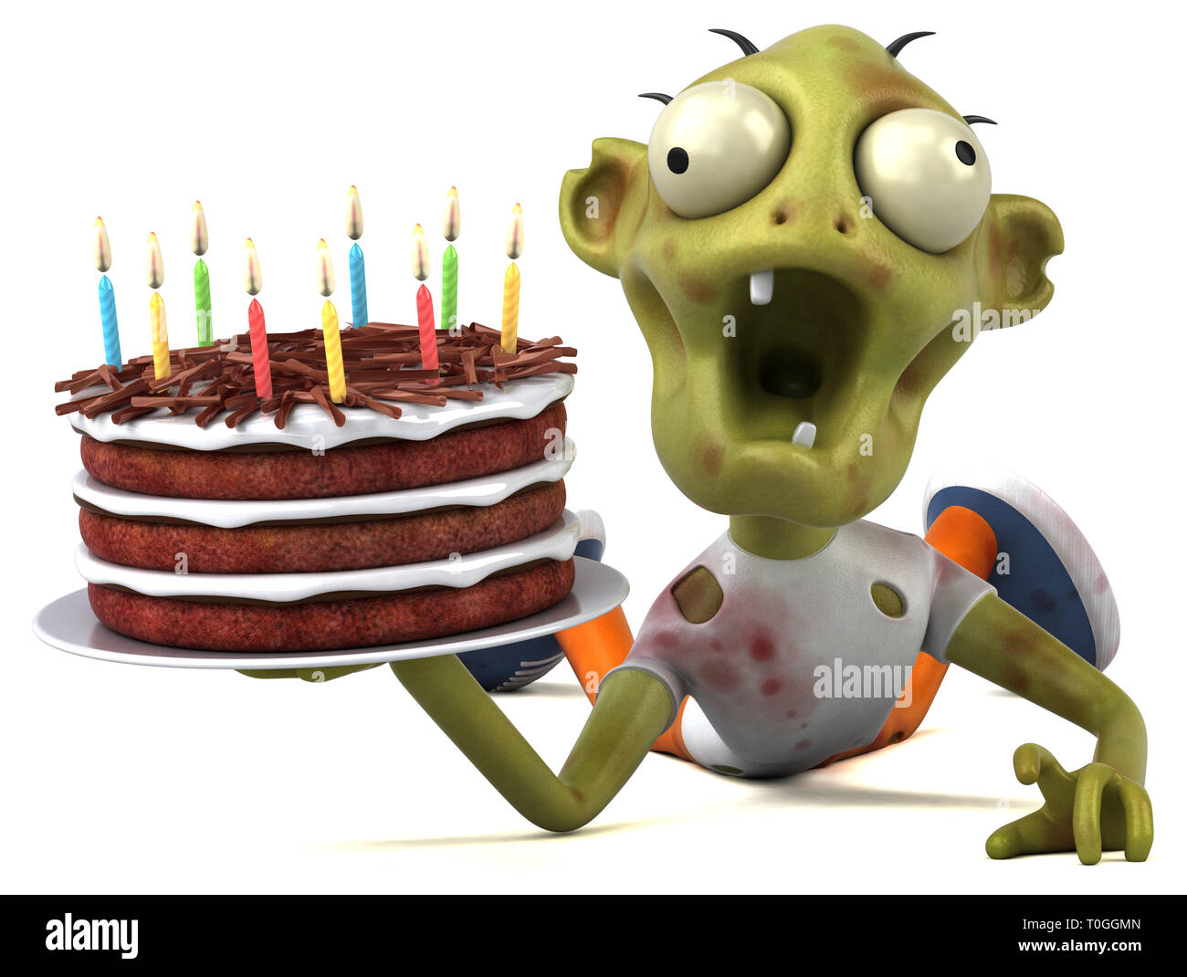 Zombie Cake Stock Photos Images
