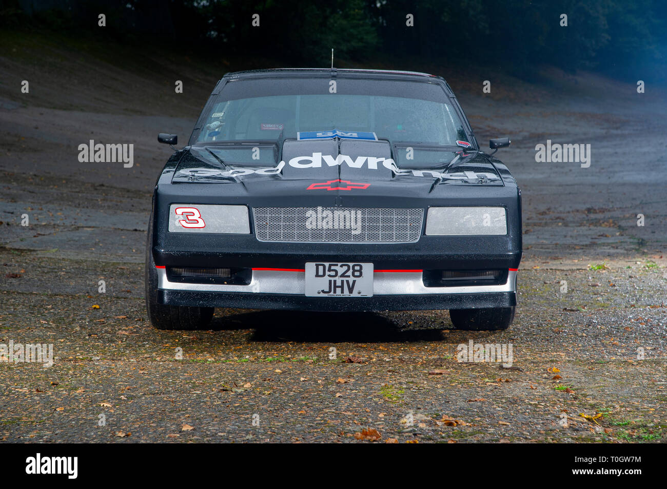 Chevy Monte Carlo Nascar Racing Car Driven By Dale Earnhardt Stock Photo Alamy