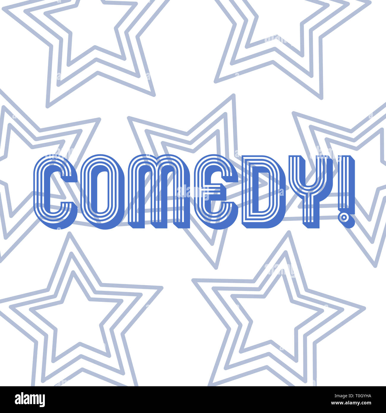 Text Sign Showing Comedy Business Photo Showcasing Fun Humor