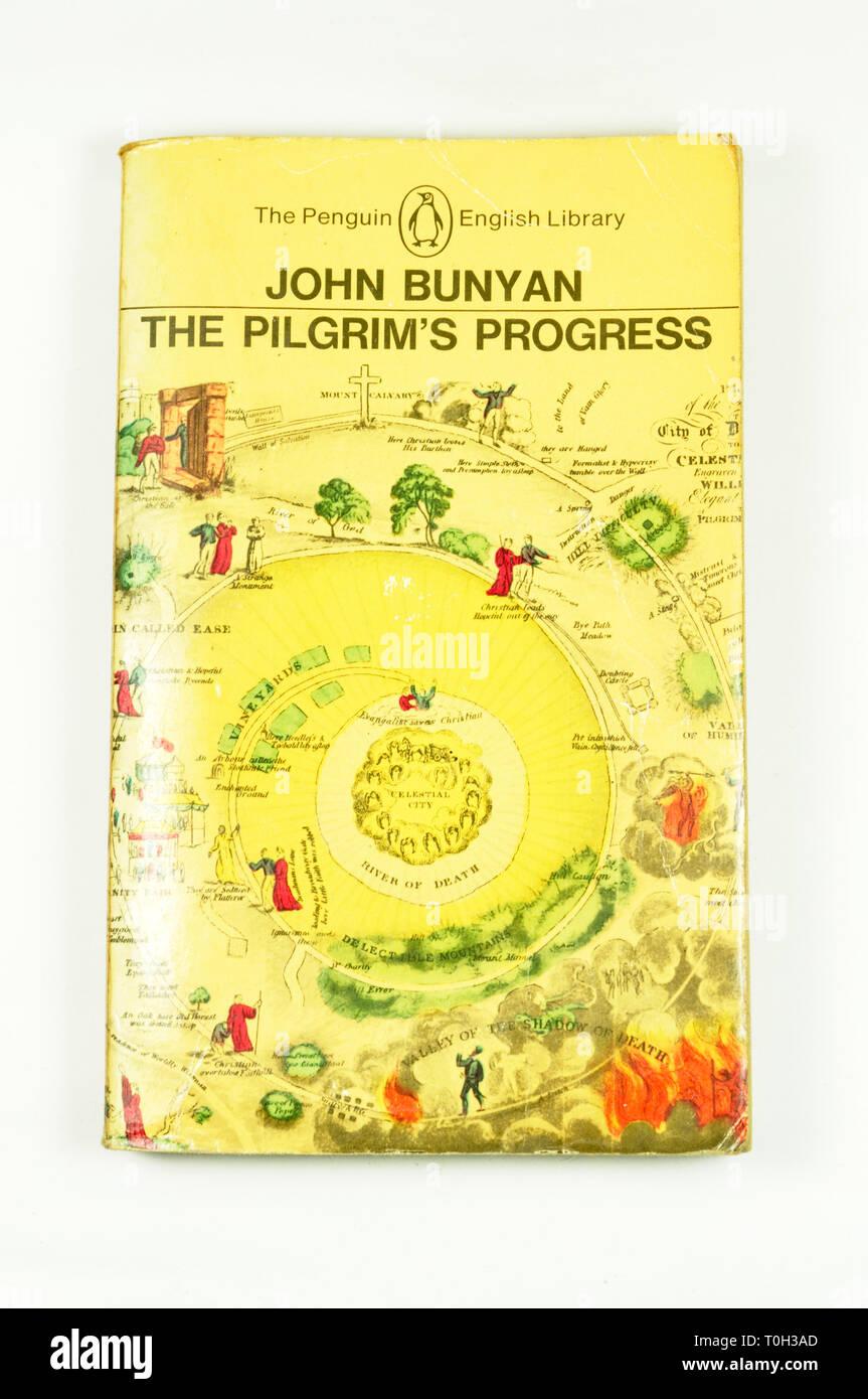 The Penguin English Library edition of The Pilgrims Progress by John Bunyan - Stock Image