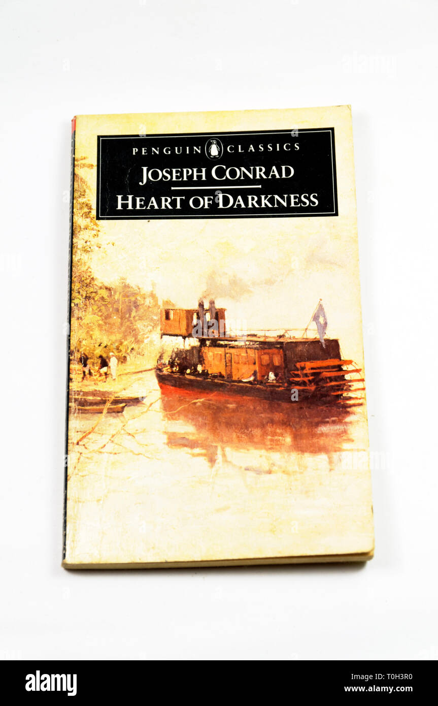 Joseph Conrad, Heart of Darkness - Stock Image
