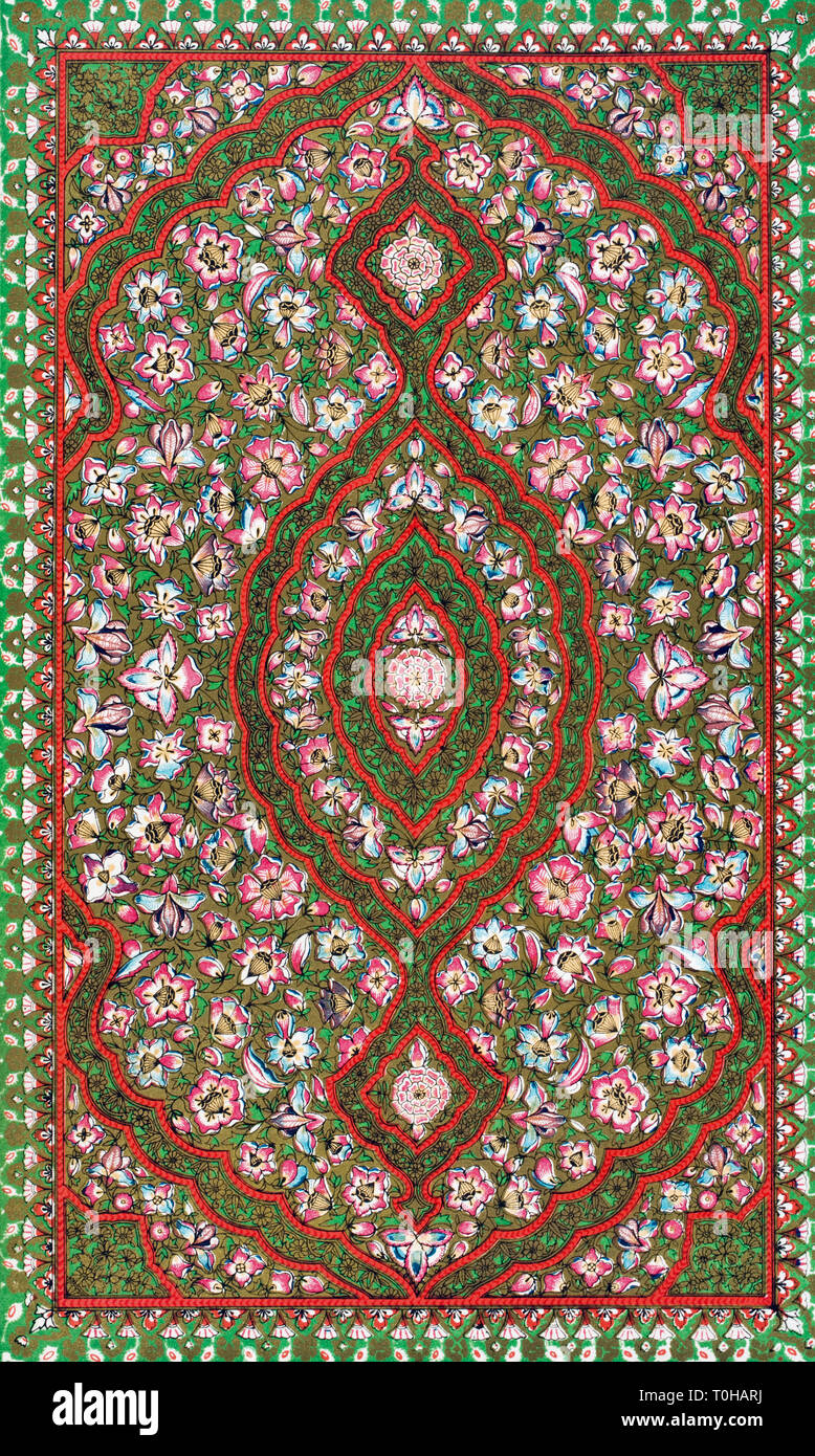 Grammar of Ornament by Owen Jones published by Day & Son London 1865 - Stock Image