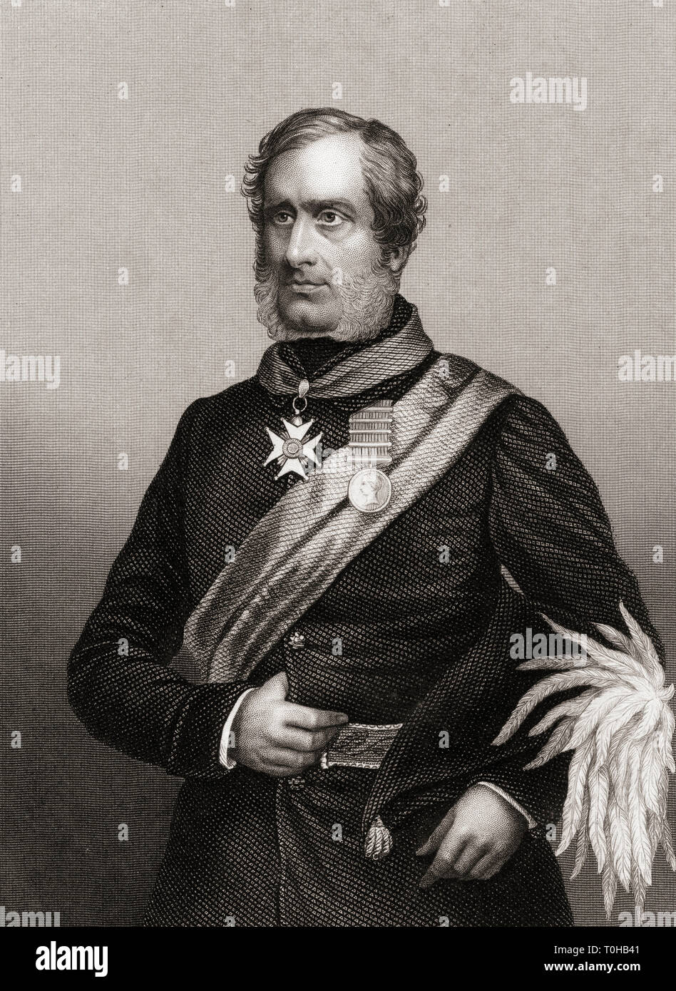 Major General Sir Henry Havelock, India, Asia, Stock Photo