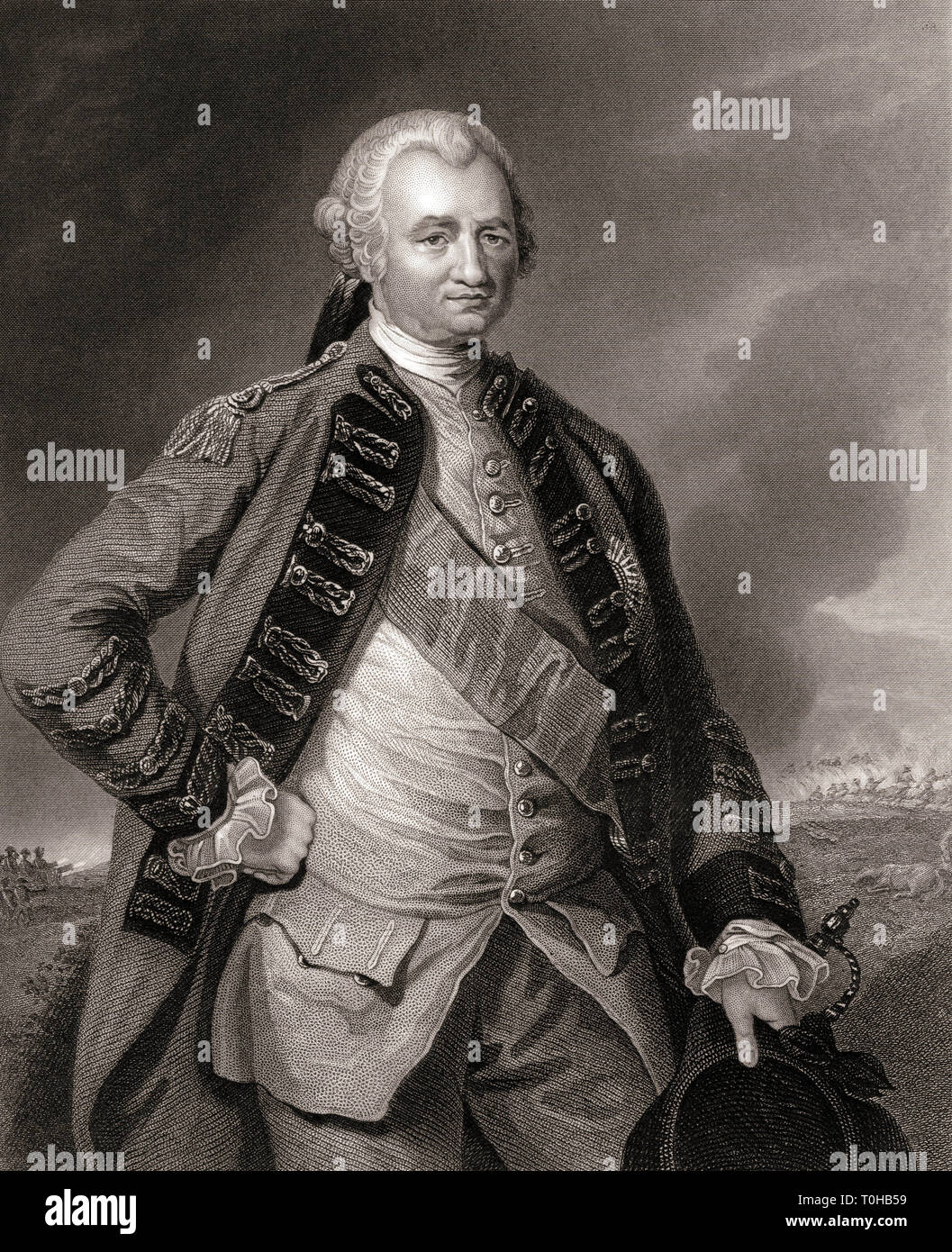 Major General Robert Clive, India, Asia - Stock Image