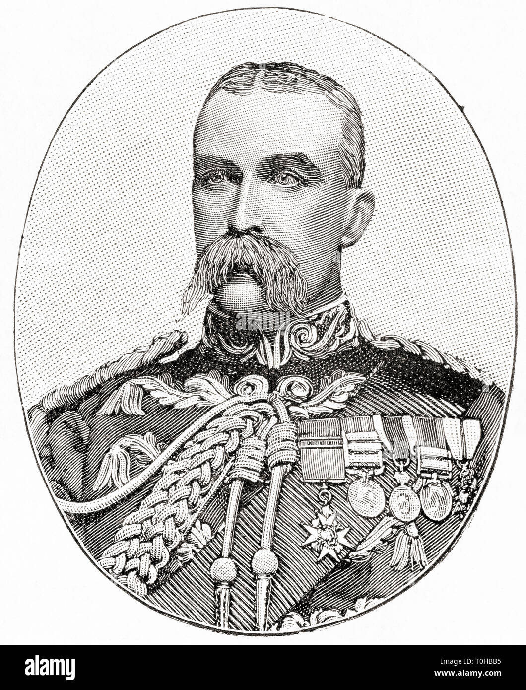 General Sir Alfred Gaselee, British soldier - Stock Image