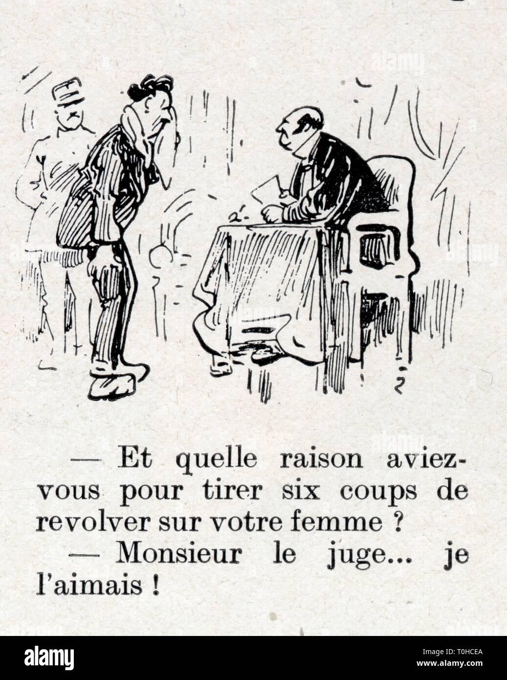 histoire drole ancienne.1 mars 1930 Stock Photo
