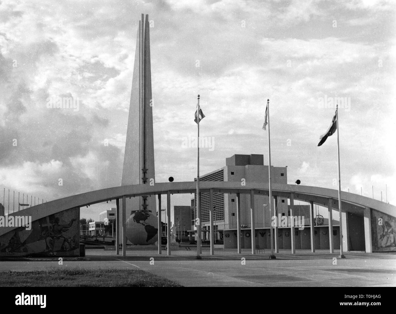 geography / travel, Dominican Republic, Ciudad Trujillo (Santo Domingo), exhibition ground, circa 1960, Additional-Rights-Clearance-Info-Not-Available - Stock Image