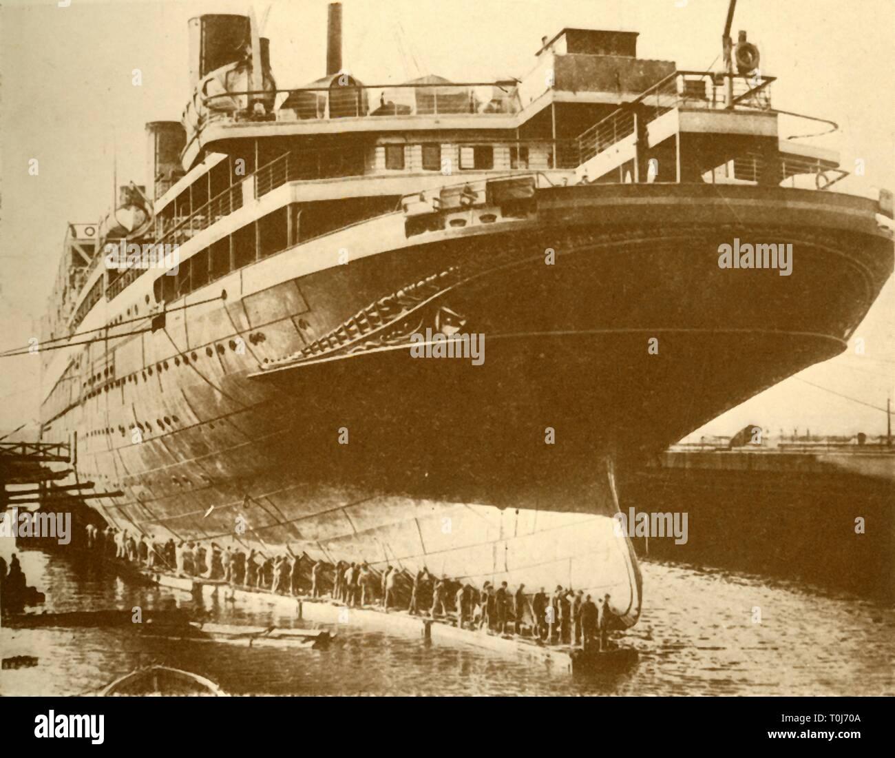 passenger ship vulcania 1930 - HD1300×1100
