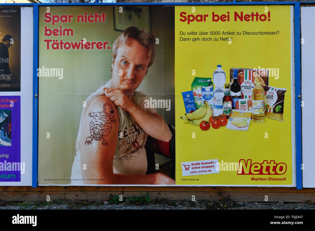 Netto Markt High Resolution Stock Photography