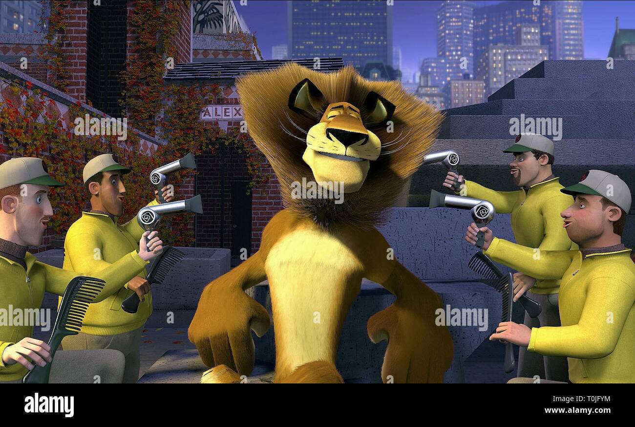 Alex The Lion Madagascar 2005 Stock Photo Alamy